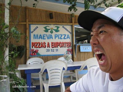 Maeva Pizza, Vaiare, Moorea French Polynesia