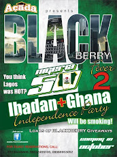 U'VE HEARD ABOUT THE BLACKBERRY PARTY IN LAGOS. IBADAN READY TO GO AGOG FOR SEASON 2