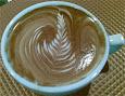 The best latte art I've captured so far: