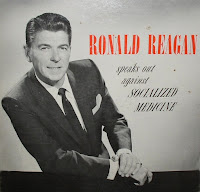 Ronald Reagan decries socialism
