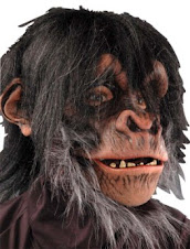 Halloween Masks - Chimp Mask