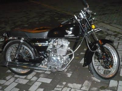 Modifikator Honda CB 100 Jogjakarta