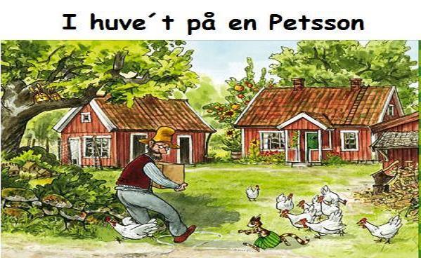 I huve´t på en Petsson