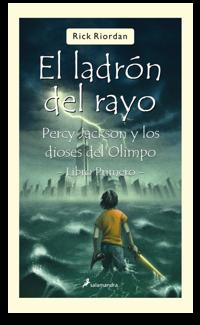 Percy Jackson: El ladrón del rayo - Rick Riordan Ladronrayopercyjackson