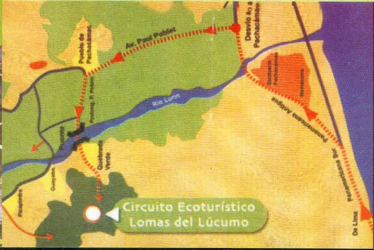 ¿Cómo llegar a las Lomas de Lúcumo?