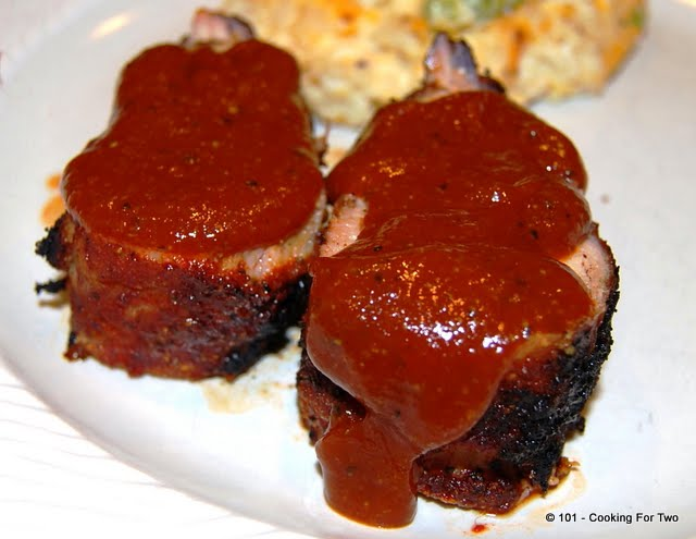 Memphis BBQ Pork Tenderloin from 101 Cooking For Two