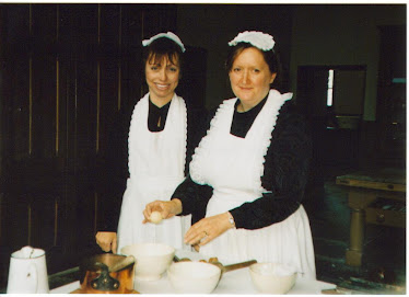 Dressed as a kitchen maid at Penrhyn