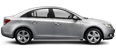 Luxury Holden Cruze, 2010