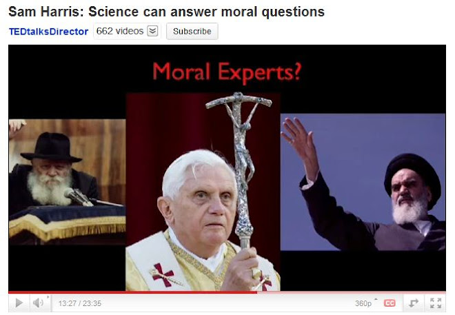TED Video - Sam Harris- Science can answer moral questions