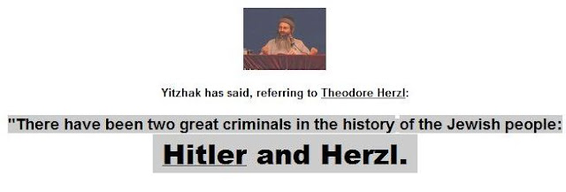 Hitler and Herzl