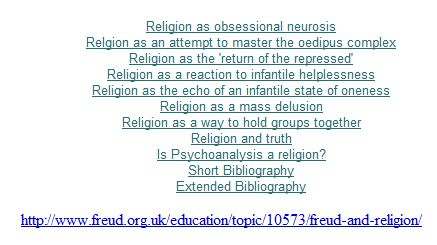 Freud and Religion - 3