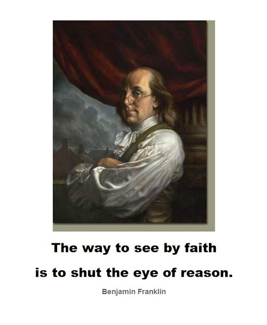 The way to see by faith