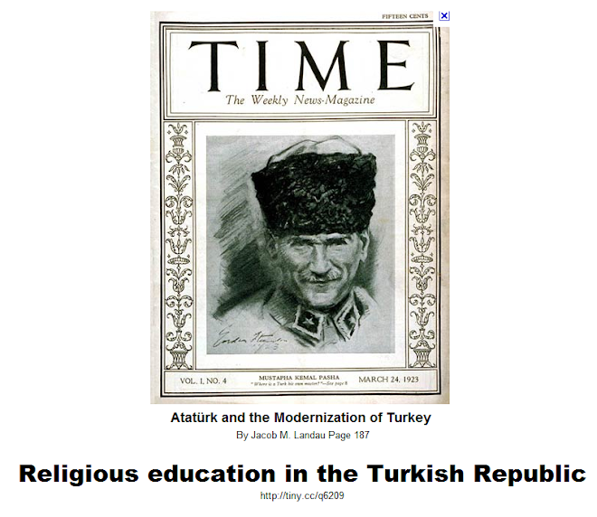 "Click for ""Religious education in the Turkish Republic"""