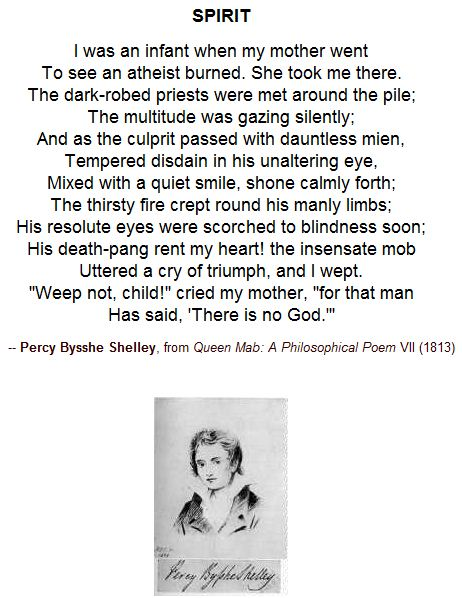 Spirit - Percy Bysshe Shelley
