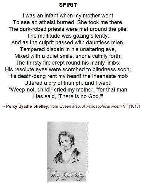 Spirit - Percy Bysshe Shelley
