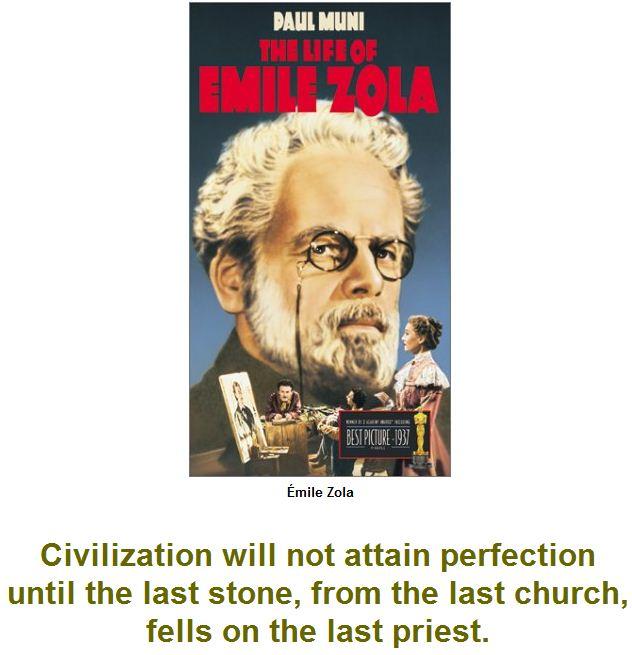 Civilization will not attain perfection
