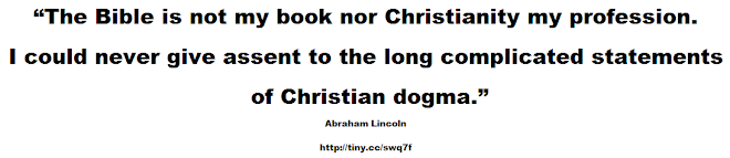 The Bible is not my book nor Christianity my profession