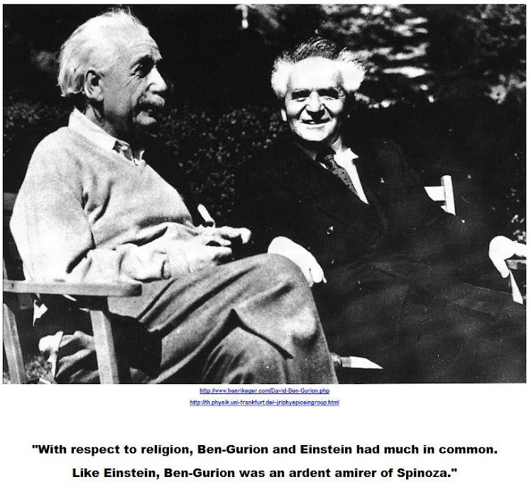 Ben Gurion - Einstein