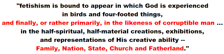 theologian Karl Barth - Family, Nation, State, Church and Fatherland