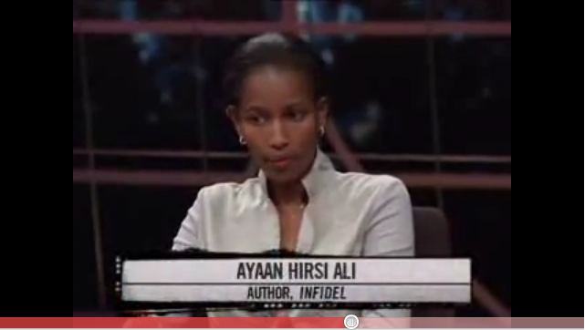 Bill Maher Hosts Ayaan Hirsi Ali