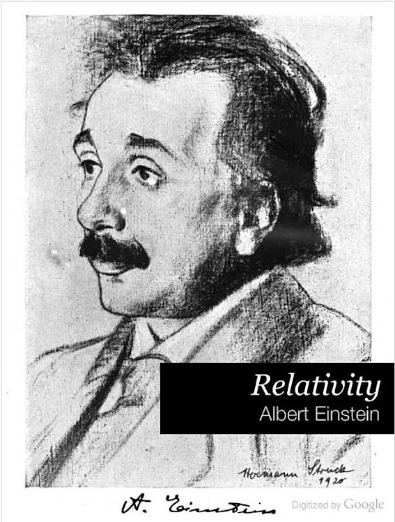 Einstein: Relativity.