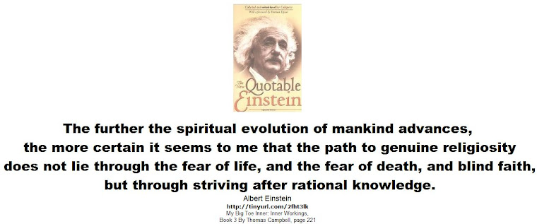The further the spiritual evolution of mankind advances -2