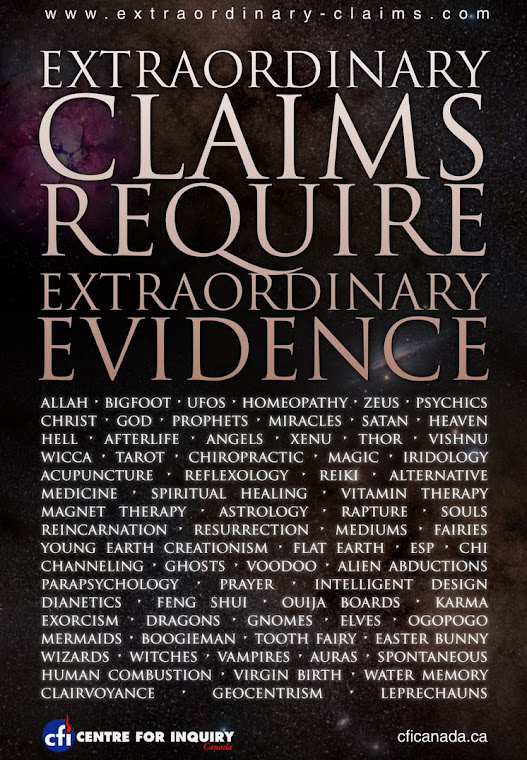 Extraordinary claims requires extraordinary evidence