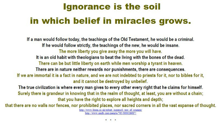 Ignorance is the soil