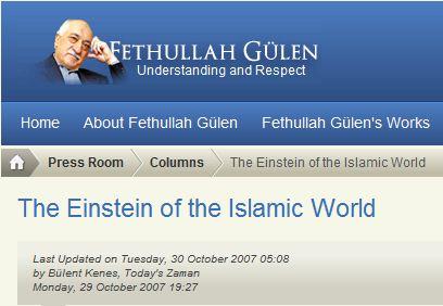 The Einstein of the Islamic World.