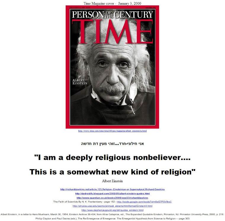 I am a deeply religious nonbeliever.