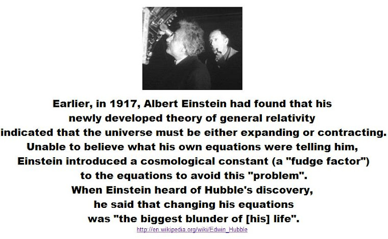 Einstein & Hubble.