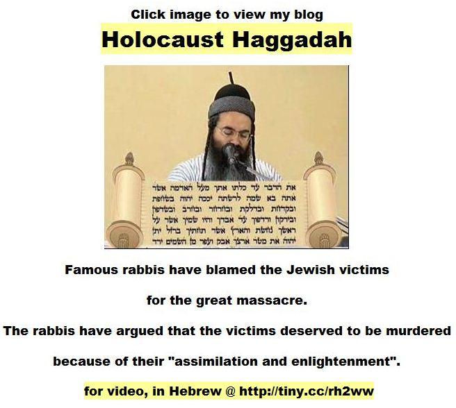 Amnon Yitzhak - Holocaust victims were gangrene for God - video
