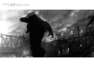 Heavy Rain Set Design: Crime Scene