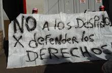 DEFENDER LOS DERECHOS, NO ES CAUSAL DE DESPIDO!!