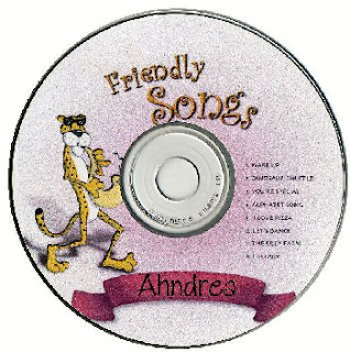 Personalized Children's music cd