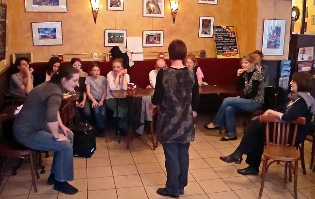 L'atelier théâtre d'Émilie Langlais à Périgueux