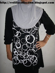 Owner Redilla Collection dgn Blouse BG Kaler Hitam