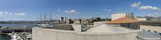 Panoramica del Porto vecchio dalla terrazza del Museo