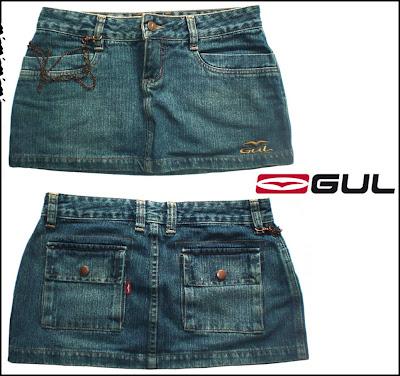 comprar saia jeans brecho online