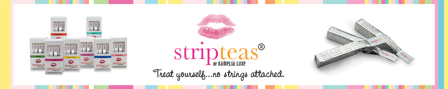 StripTeas by Kamelia:Luxe | Treat yourself ... no strings attached.