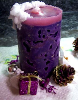 make an ice candle craft tutorial