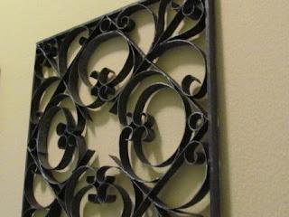 Фальш-ковка для декорирования стен