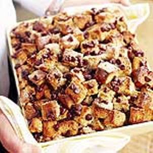 Epicurious Chocolate Chip Bread Pudding