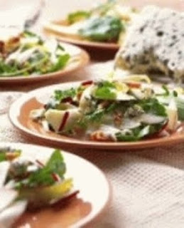 ... File: Endive Salad with Apples, Walnuts and Bleu Cheese Crumbles