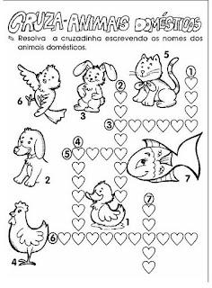 Atividades de Ciências 1º ANO - Desenhos para Colorir