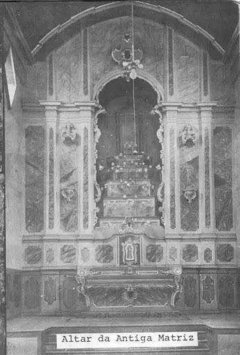 Altar mor da antiga Matriz