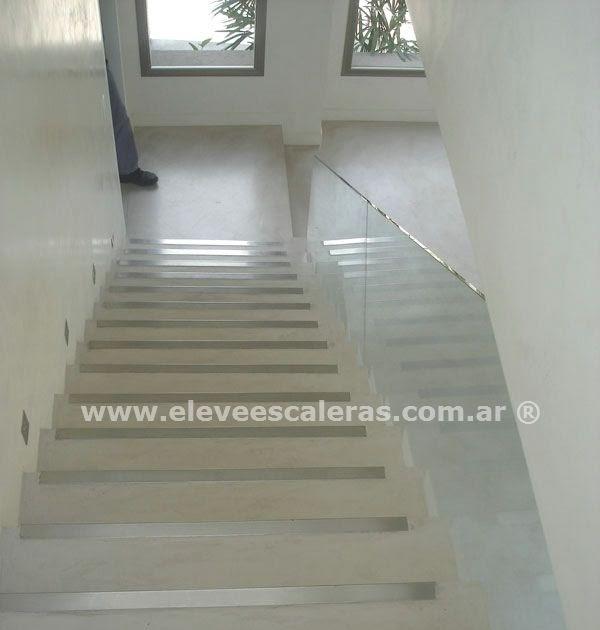 Barandas para escaleras en cristal fotos decoractual - Pintura para escaleras ...
