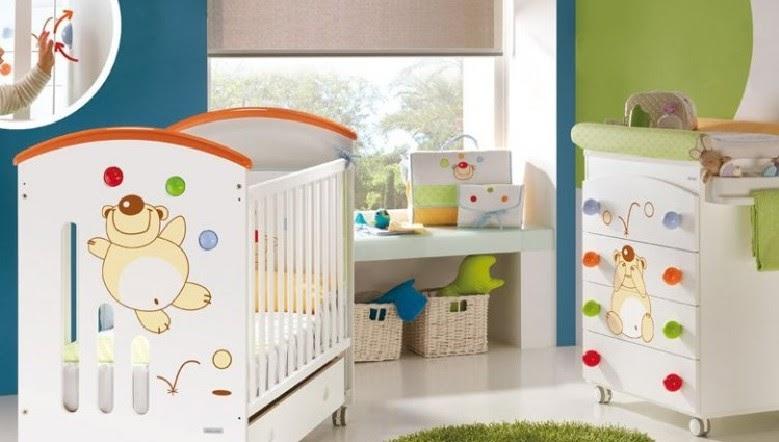 Fotos muebles cunas coloridas para bebes dormitorios - Dormitorio infantil segunda mano ...