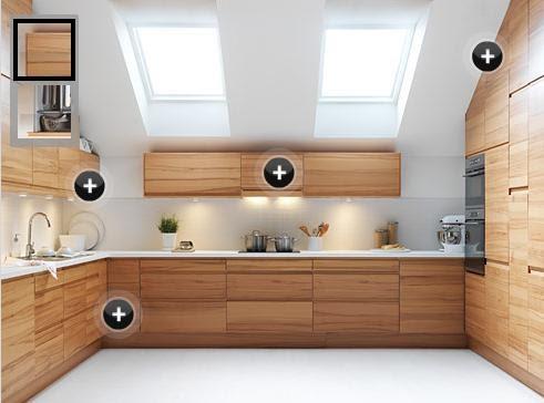 Cocinas compactas ikea armarios faktum decoractual for Despensas de cocina a medida