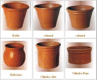 Macetas de barro formas y modelos decoractual dise o - Maceteros de barro ...